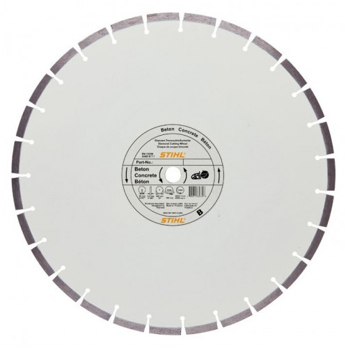 Алмазный отрезной диск по бетону STIHL В 80, Ø 400 мм х 3,0 мм