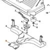 Вставка щетки на подметальные устройства STIHL KG-550,770; KGА-770 7561