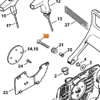 Винт STIHL с цилиндрической головкой IS-М5 х 35 для MS 201-880 7531
