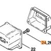 Винт STIHL с цилиндрической головкой  IS-М5 х 16 для MS 201-880 7541