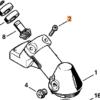 Винт STIHL с цилиндрической головкой IS-М5 х 25 для MS 261-880 7647