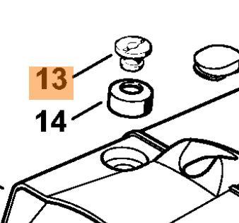Гайка крепления крышки для бензопилы Stihl MS 260, 340, 341, 360, 361, 441, 461,880 (11210847000)